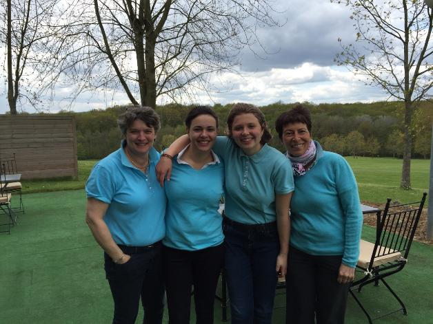 L'équipe féminine vive championne de Bourgogne 2016
